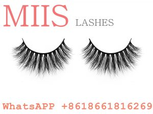 label real mink fur eyelash